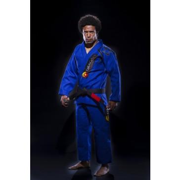 Dragão Kimonos Jiu Jitsu Gi Tribal Blue Best Gis, Fight Wear