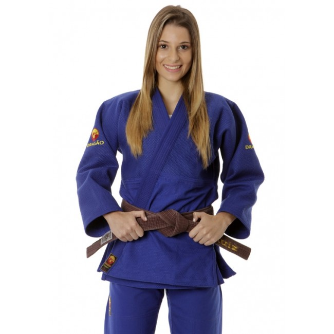 Dragão Kimonos Judo Gi Export Blue Best Gis, Fight Wear