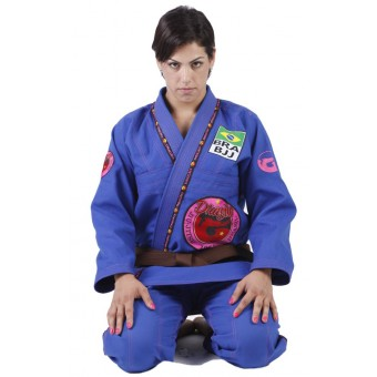 Combat Jiu Jitsu Female Blue