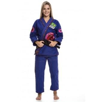 Combat Jiu Jitsu Female Blue