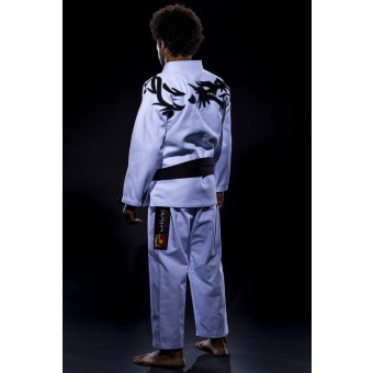 Jiu Jitsu Gi Tribal White